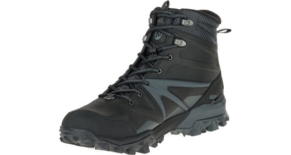 Merrell Capra Glacial Ice+ Mid Waterproof Shoes Men Black